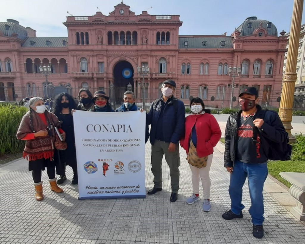 Referentes indígenas de Argentina crearon Conapia