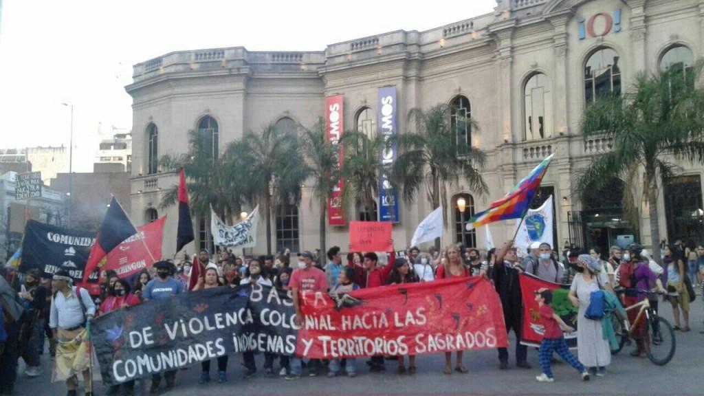 Córdoba: Caminata de los pueblos indígenas