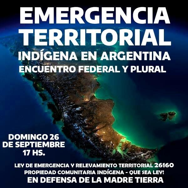 Encuentro federal y plural por la emergencia territorial indígena en Argentina